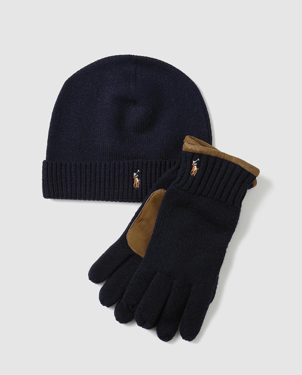 4001e572cde best price ralph lauren scarf and beanie knitting e29a8 a0c59