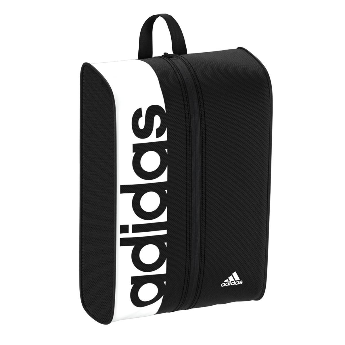 best sneakers ee971 71558 adidas Linear Performance Shoe Bag in Black for Men - Lyst