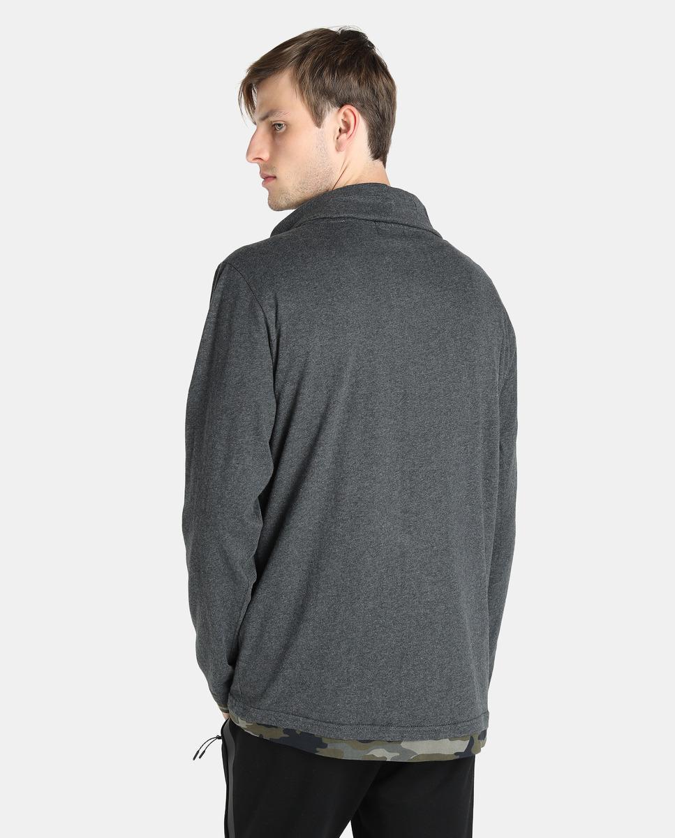 Lyst green coast grey long sleeve t shirt in gray for men for Grey long sleeve shirts