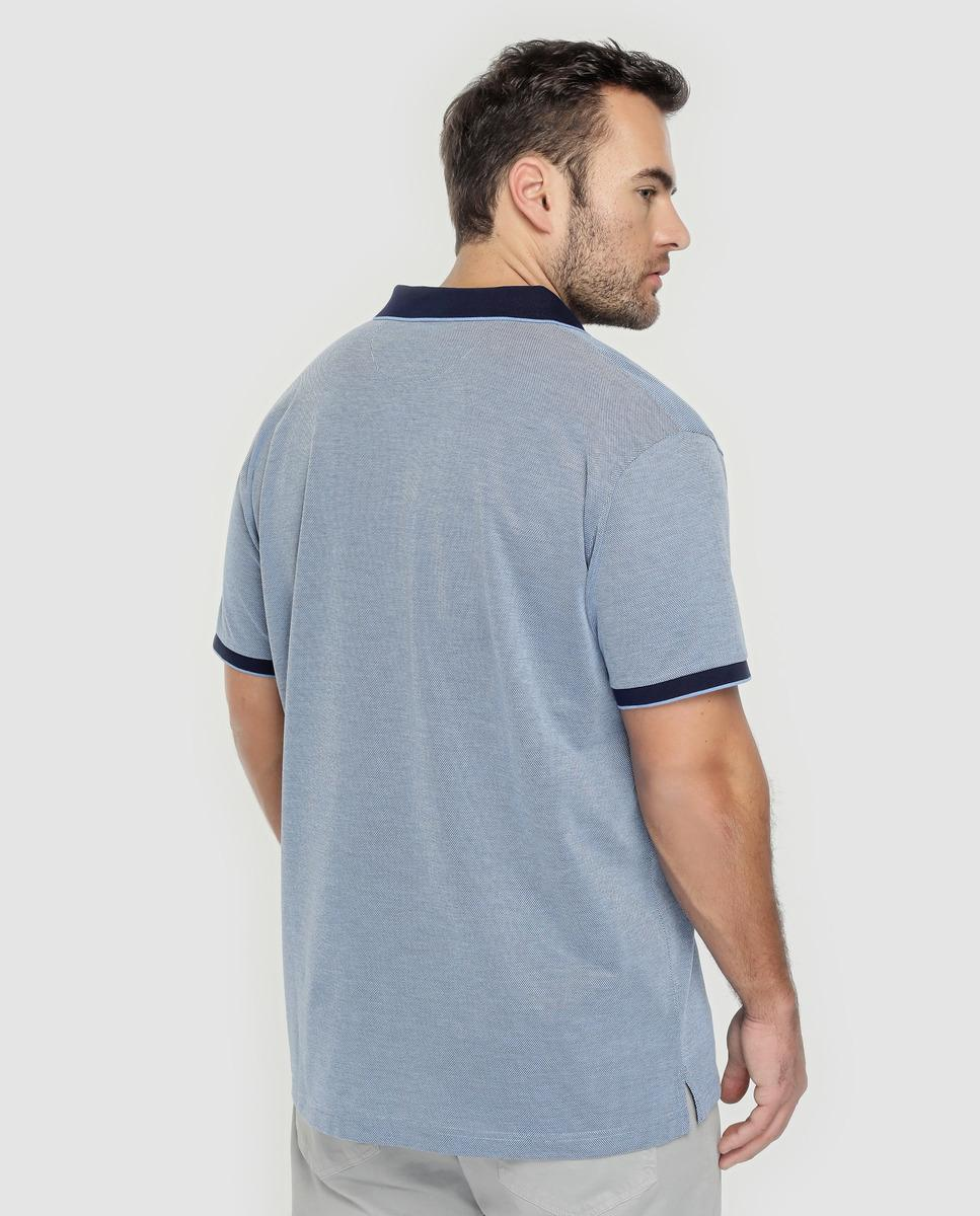 8440ddb4d GANT Big And Tall Classic-fit Blue Short Sleeve Piqué Polo Shirt in Blue  for Men - Lyst