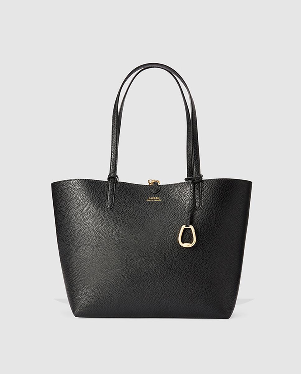 Lyst - Lauren by Ralph Lauren Reversible Black Printed And
