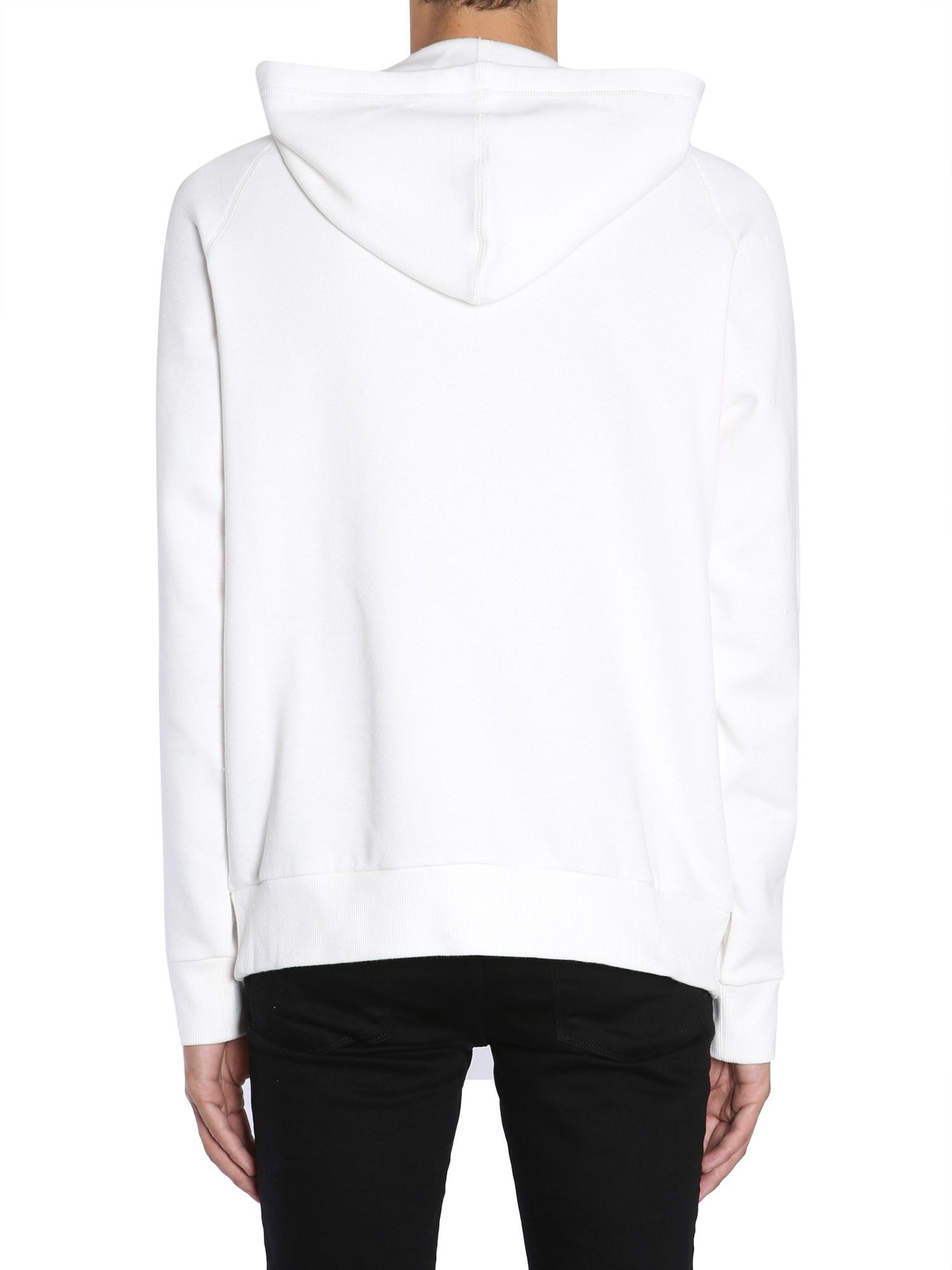 Lanvin Cotton Useful Pain Print Hoodie in White for Men - Save 36%