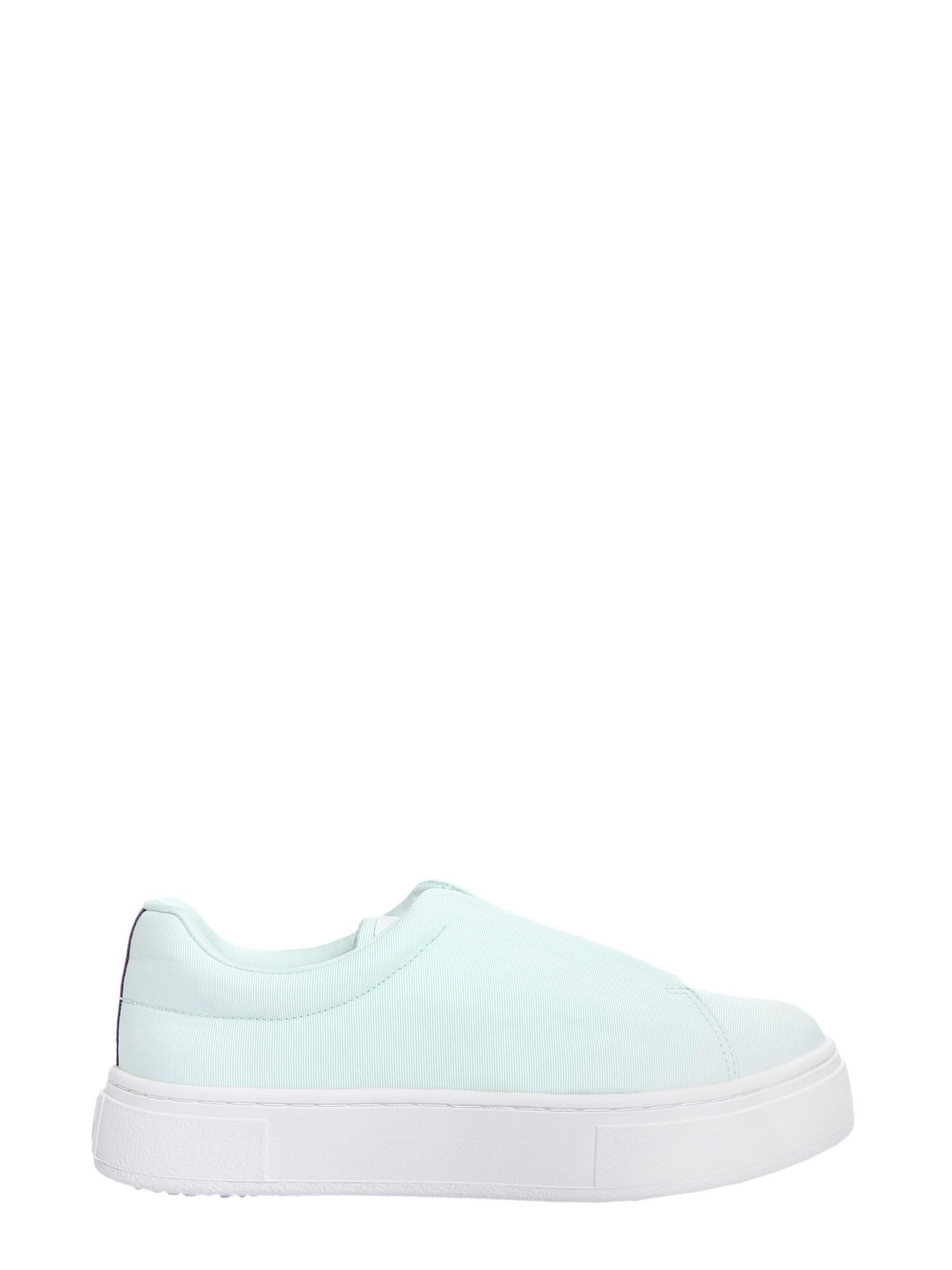Eytys Doja So Canvas Sneakers in Azure (Blue)