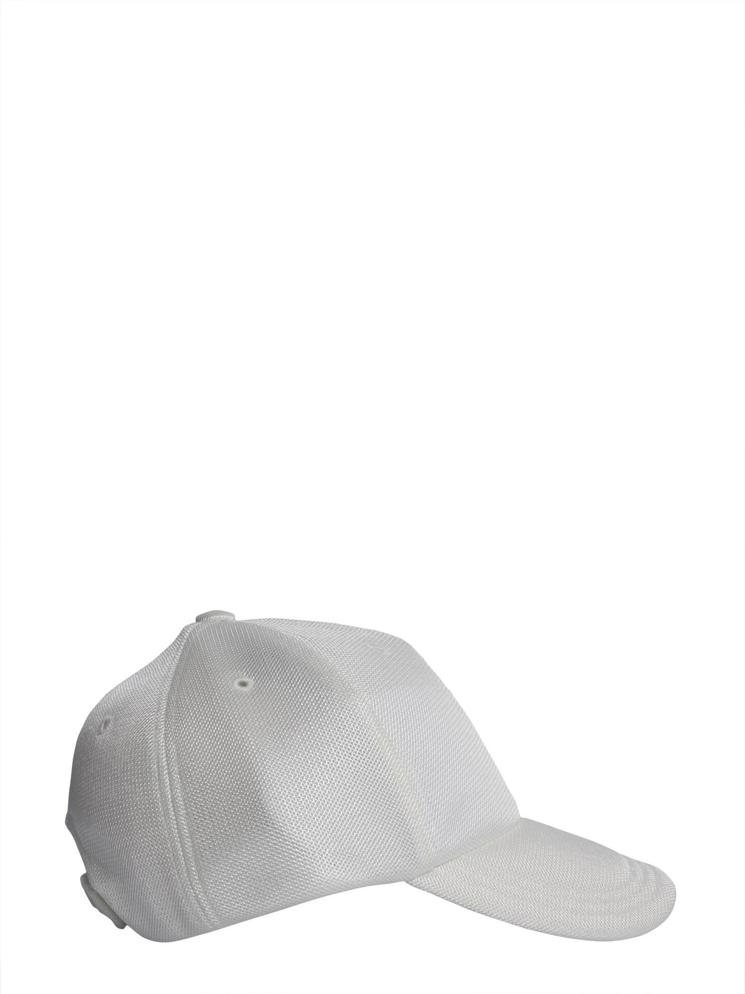 439ecee444f Lyst - Y-3 Badge Mesh Baseball Cap in White