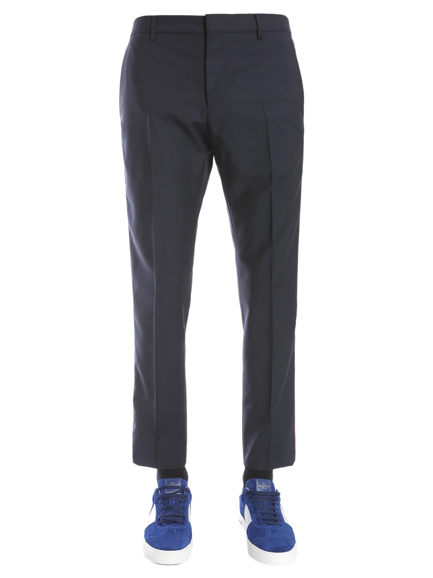Lowest Price For Sale Tapered Wool And Mohair-blend Trousers Valentino Real Sale Online Buy Cheap Explore Cheap Sale Collections fxy5p
