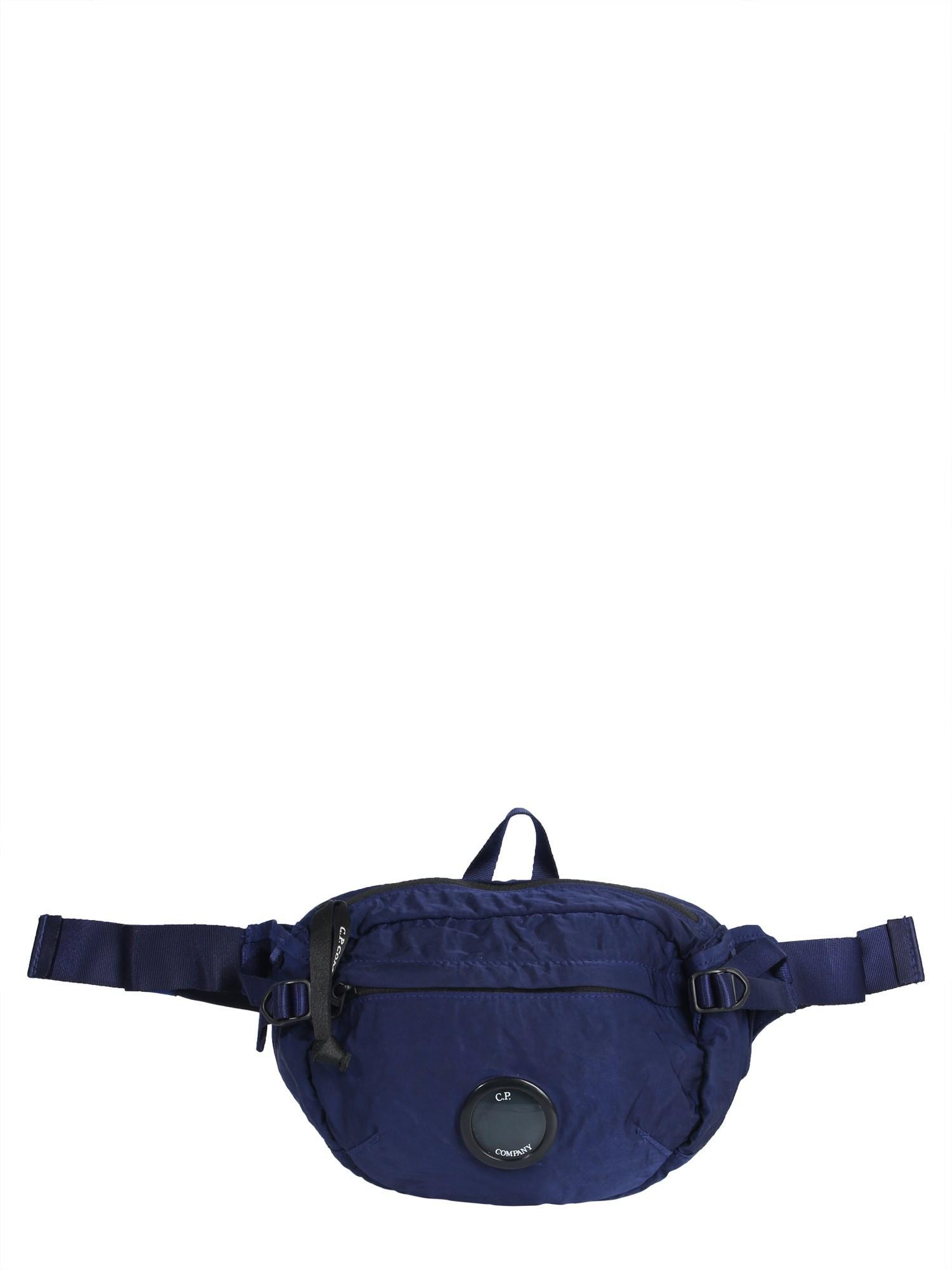 e12e31069 Lyst - C P Company Marsupio In Nylon Con Lente Iconica in Blue for Men
