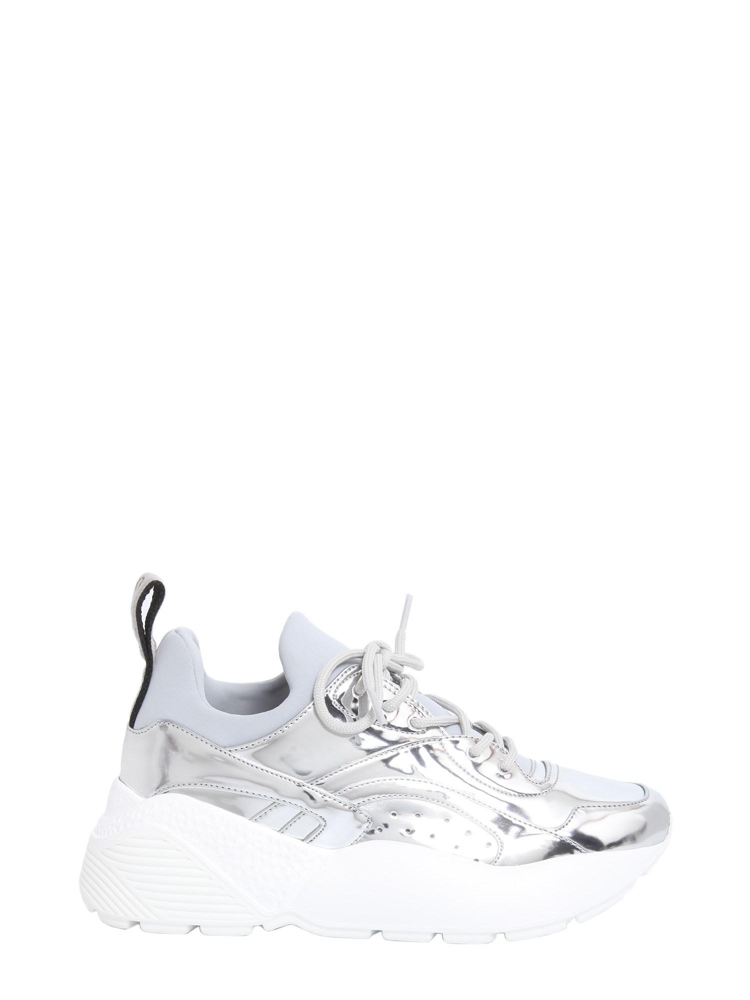 Metallic With Chunky Sneakers Sole Stella Mccartney Eclypse Rubber yn0vmN8wO