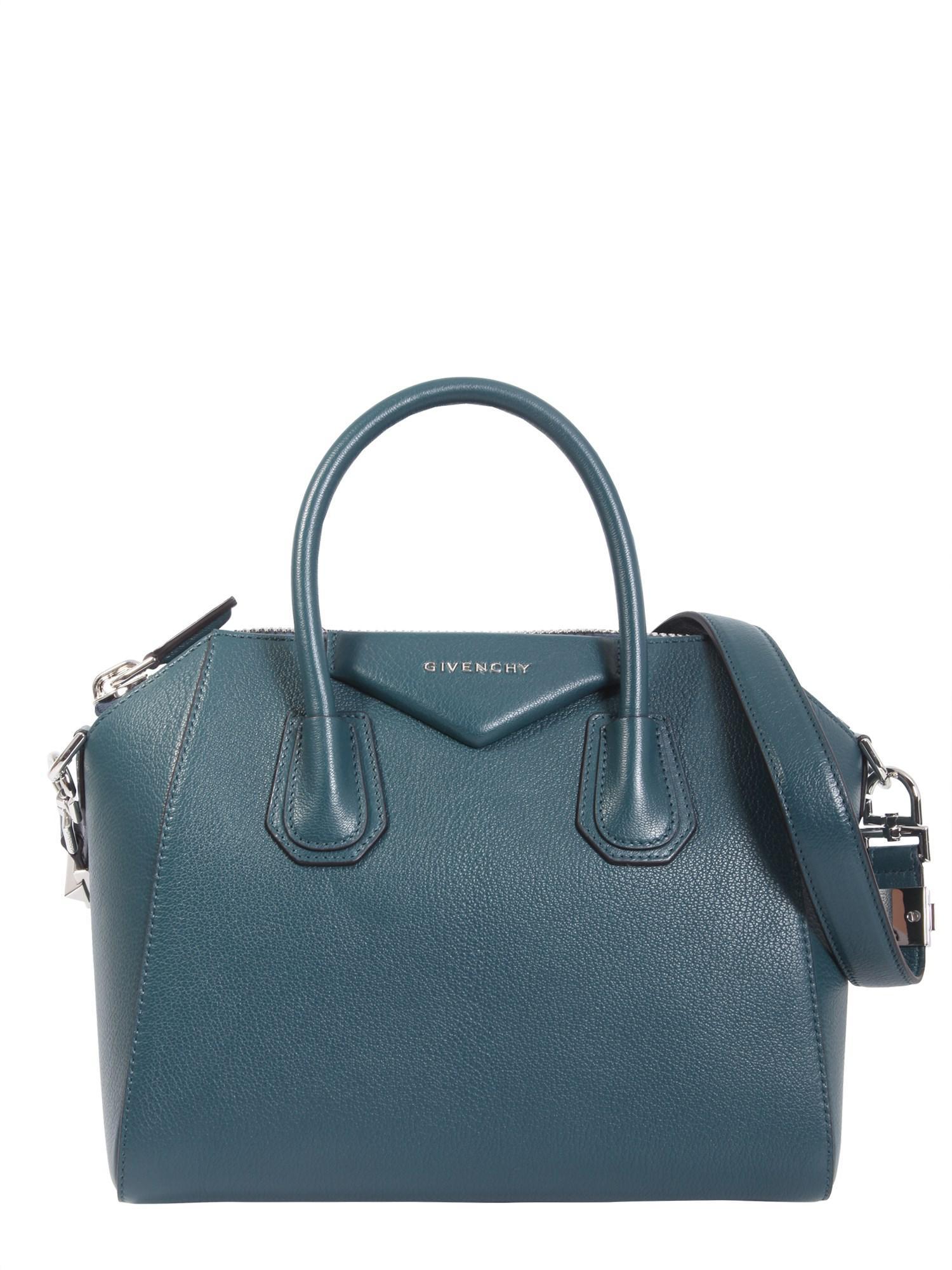 Givenchy - Blue Small Antigona Leather Bag - Lyst. View Fullscreen 5a21ece826