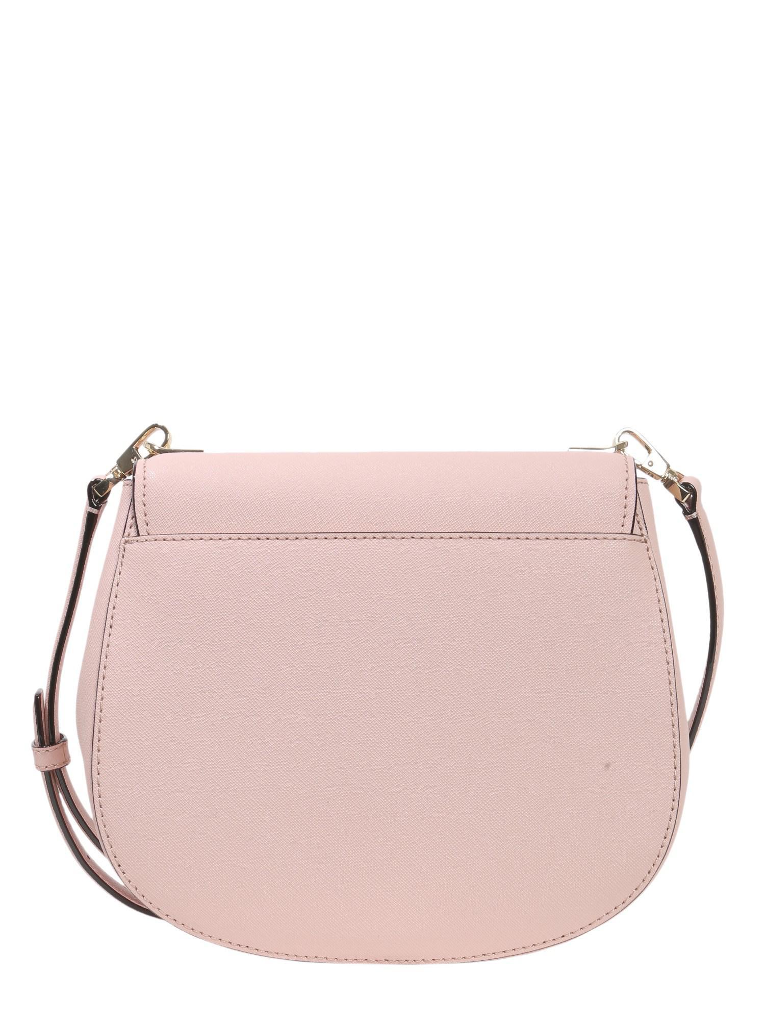 4a03807125 Kate Spade Cameron Street Byrdie Leather Crossbody Bag in Pink - Lyst
