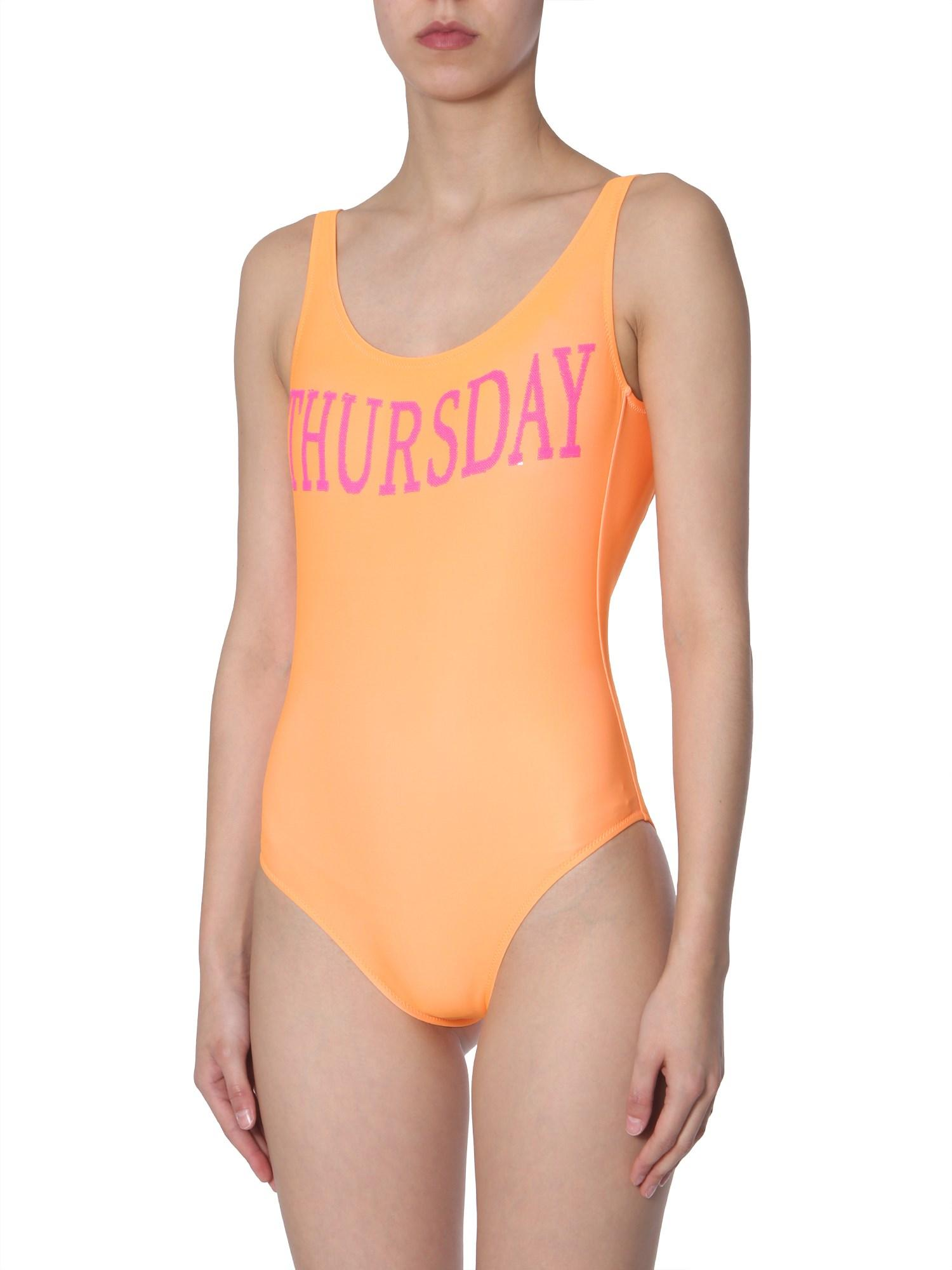 Thursday Lyst Costume Orange Ferretti Intero Alberta In lFJ1TKc