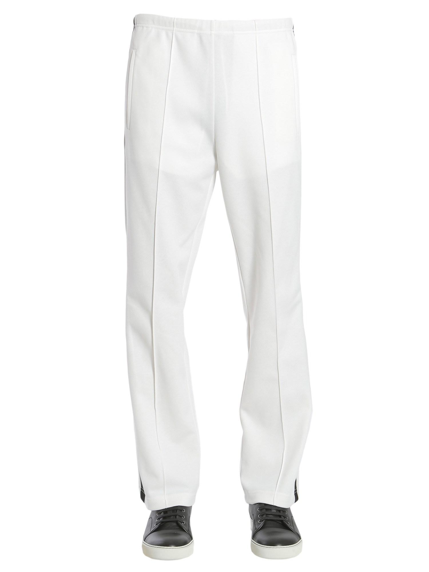 side band trousers - White Maison Martin Margiela Discount Get Authentic Pick A Best Online XlMDfyR