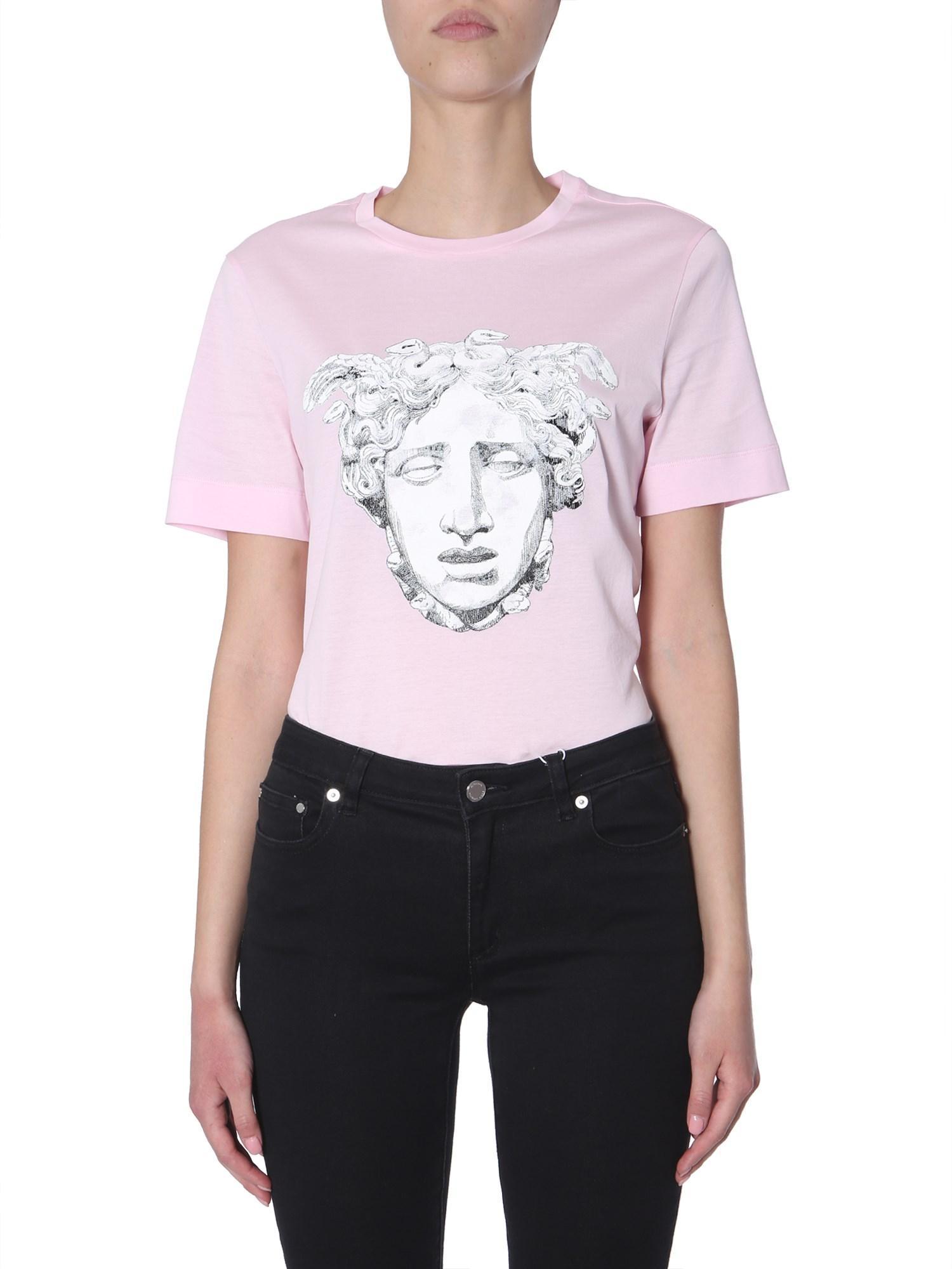ff5dec49 Versace Rosa Medusa T-shirt in Pink - Save 43% - Lyst