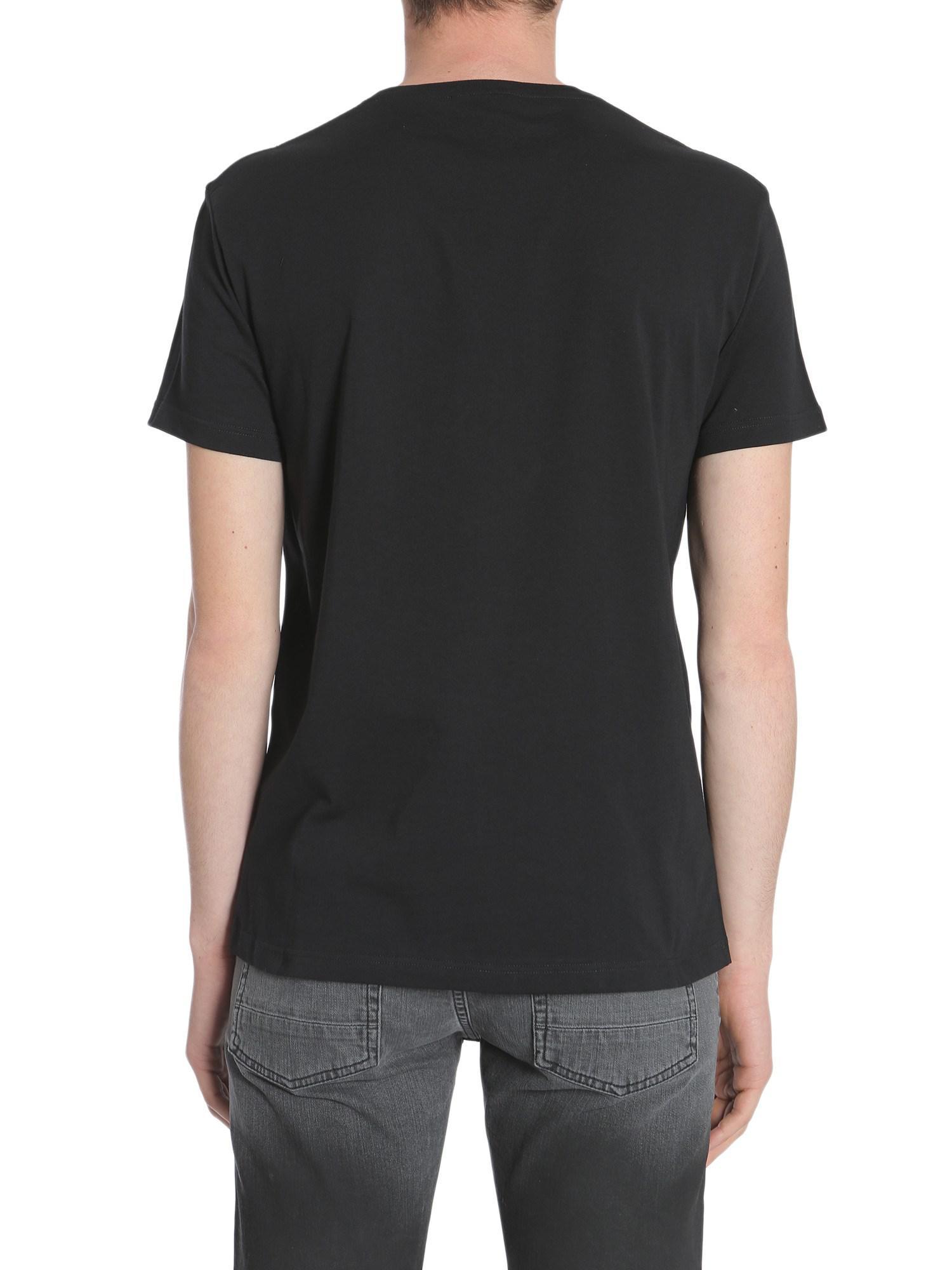 Black Dancing Skeleton T-Shirt Alexander McQueen Browse Online Exclusive 2ebEDOKqk