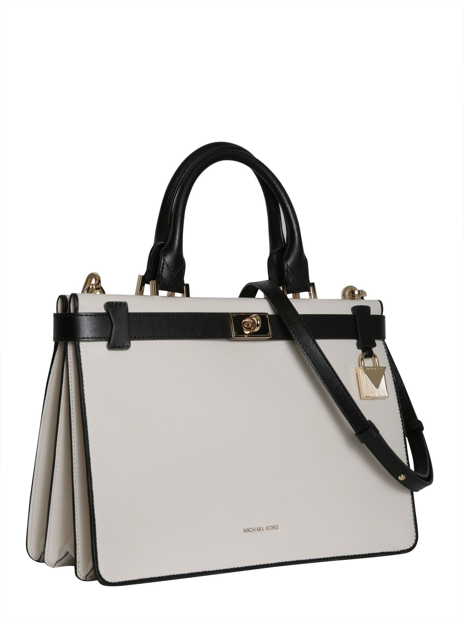 MICHAEL Michael Kors Beige Leather Handbag in Natural