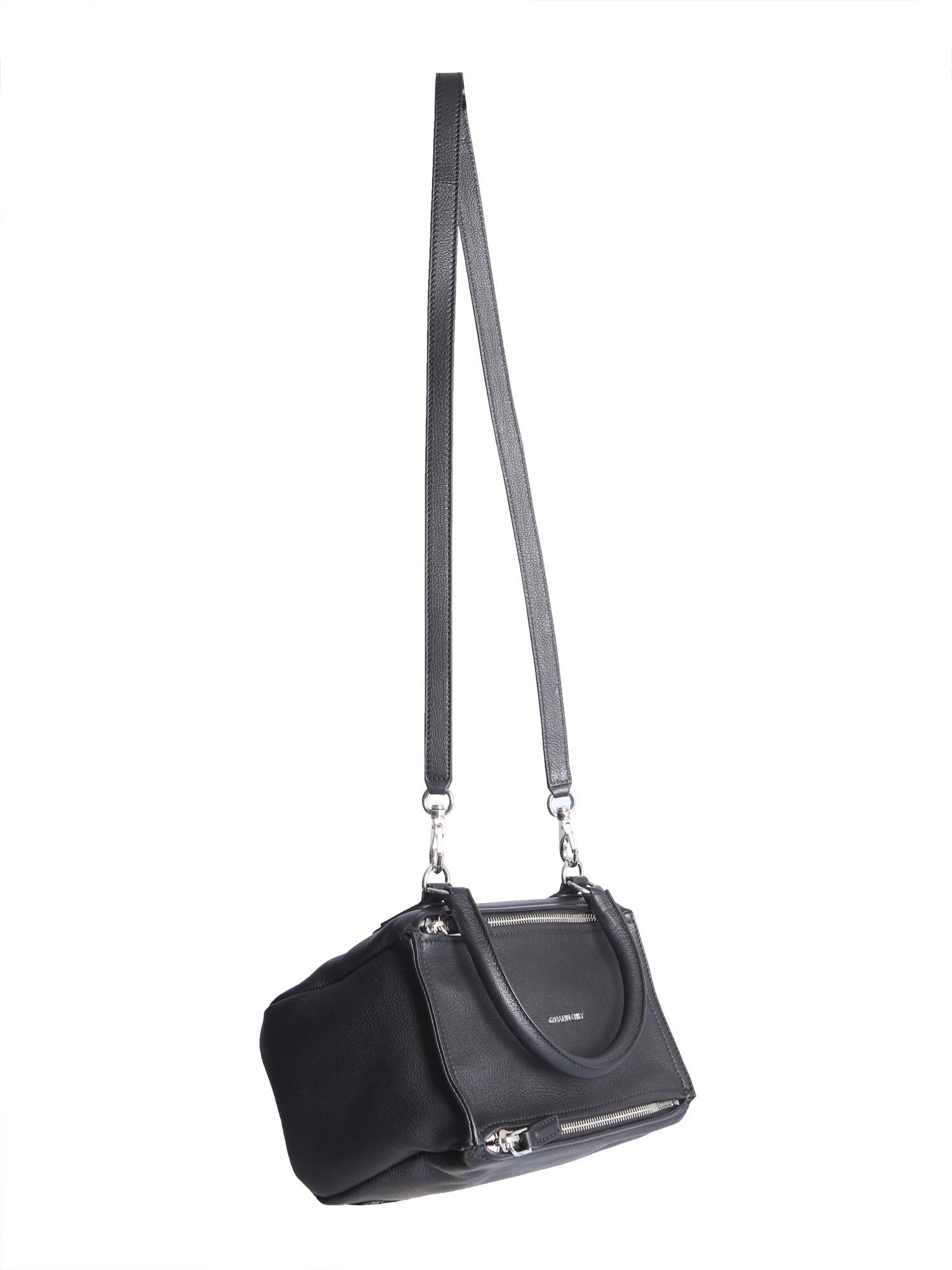 b889ff0354d Givenchy - Black Small Pandora Bag In Hammered Leather - Lyst. View  fullscreen