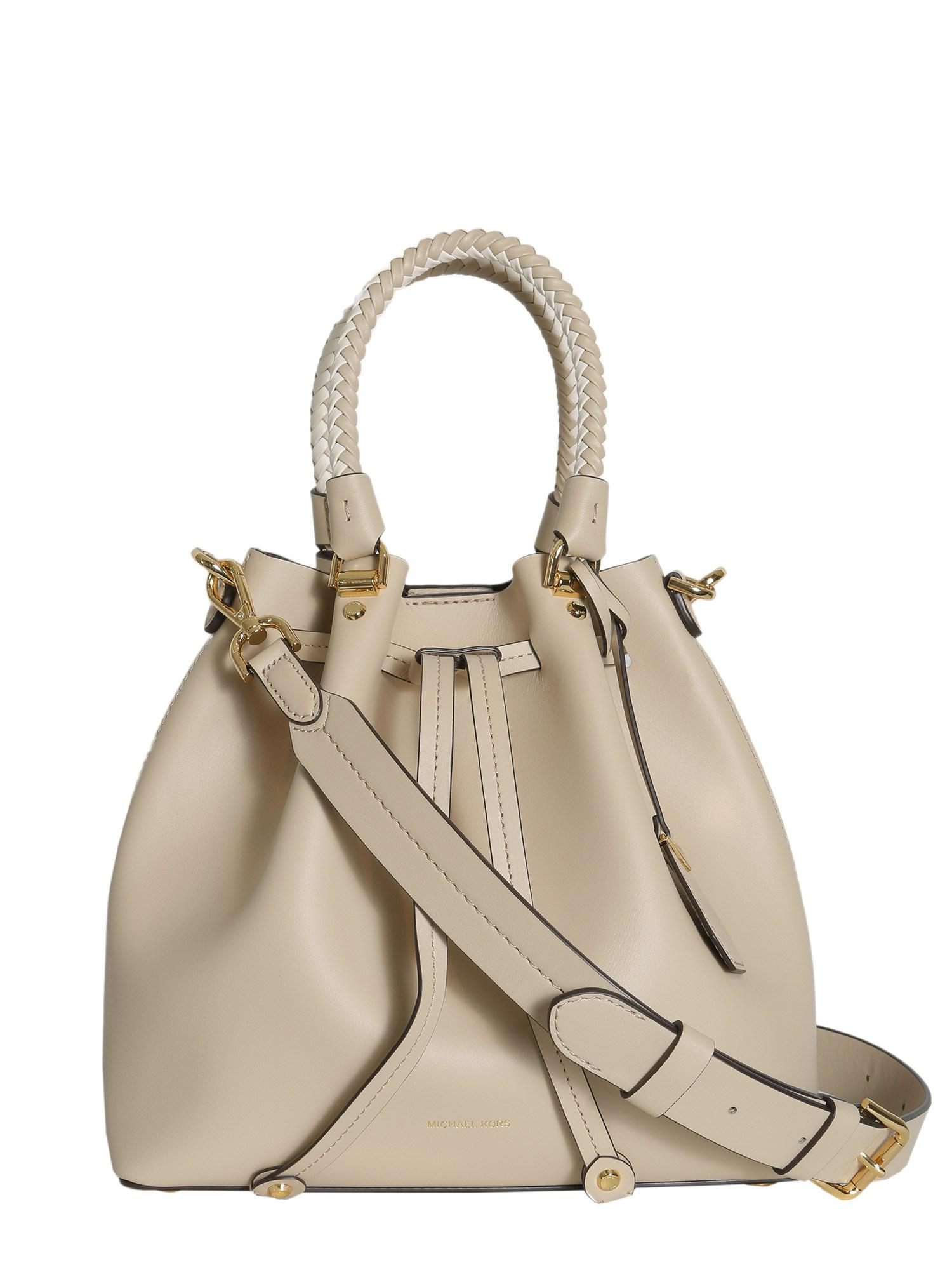 4edf8ac71e1f Lyst - MICHAEL Michael Kors Blakely Medium Leather Bucket Bag