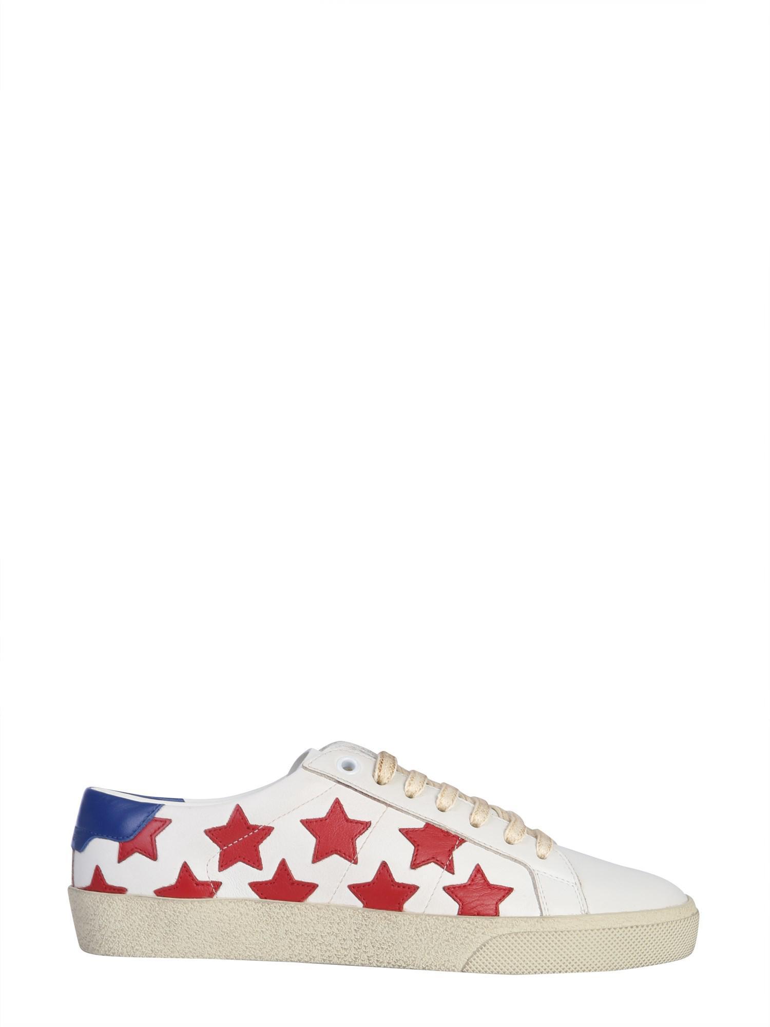 dce3ac22d96 Lyst - Saint Laurent Court Classic Sl/06 California Sneakers In ...