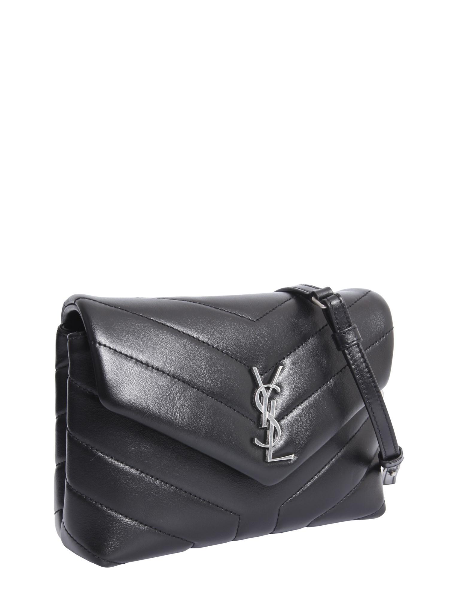 Saint Laurent - Black Loulou Toy Bag In