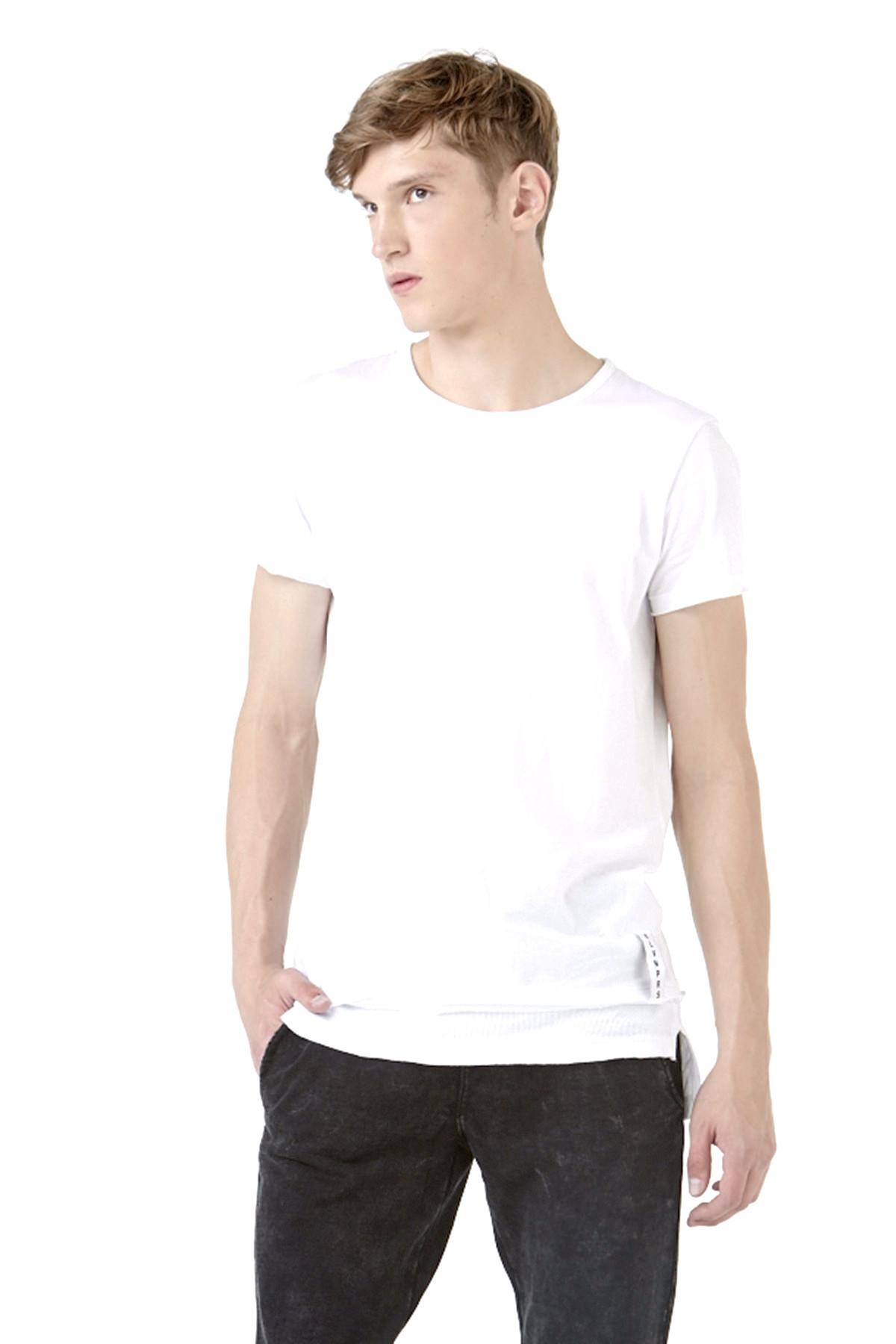 eleven paris rainier m t shirt in white for men lyst. Black Bedroom Furniture Sets. Home Design Ideas