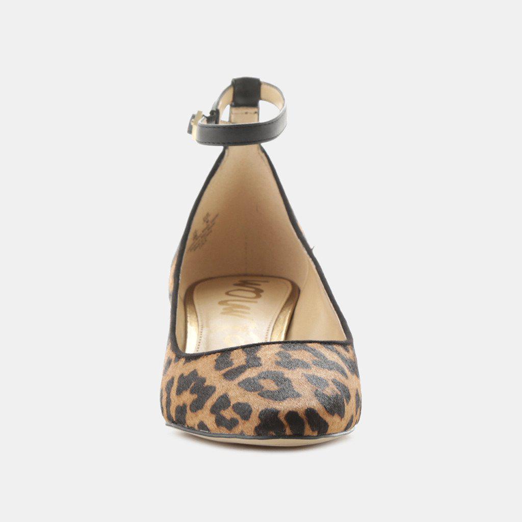 8b28e86bb Lyst - Sam Edelman Lola Leopard Mary Jane in Brown