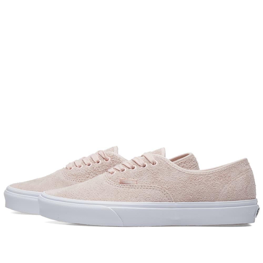 f4bea7f792f Vans - Pink Ua Authentic Hairy Suede for Men - Lyst. View fullscreen