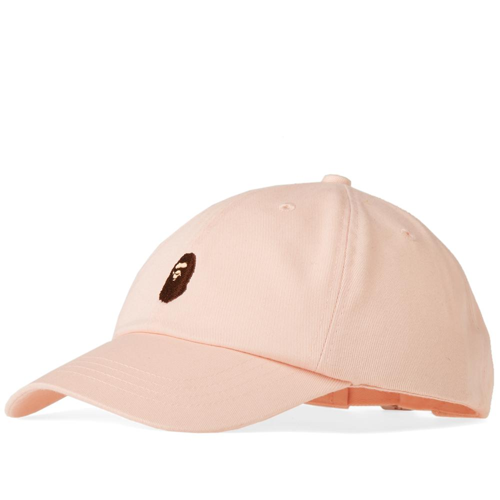 5b7c985485e8 Lyst - A Bathing Ape Ape Head Panel Cap in Pink for Men