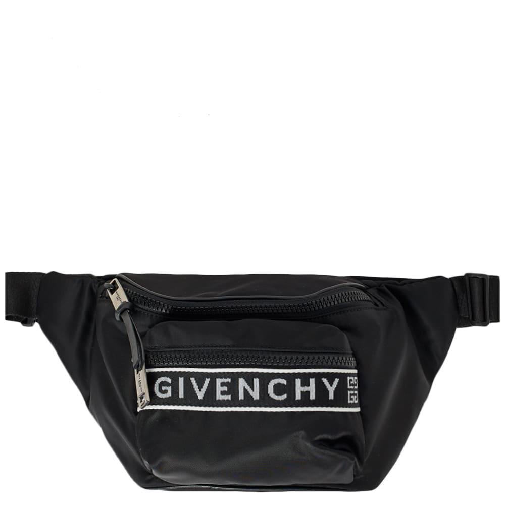 Lyst - Givenchy Logo Taping Waist Bag in Black for Men 8f7e1ae353