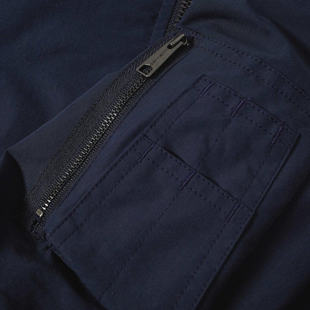Carhartt WIP Cotton Carhartt Adams Ma-1 Bomber Jacket in Blue for Men