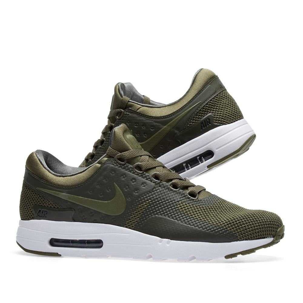 on sale 5a7d5 dd7ab Nike Green Air Max Zero Essential for men