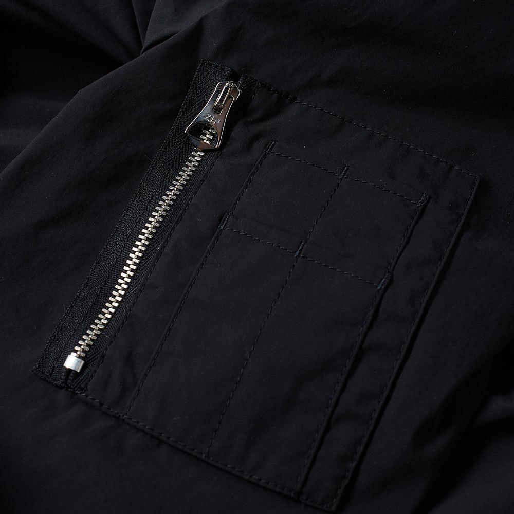 C P Company Cotton Flight Bomber Jacket in Black for Men