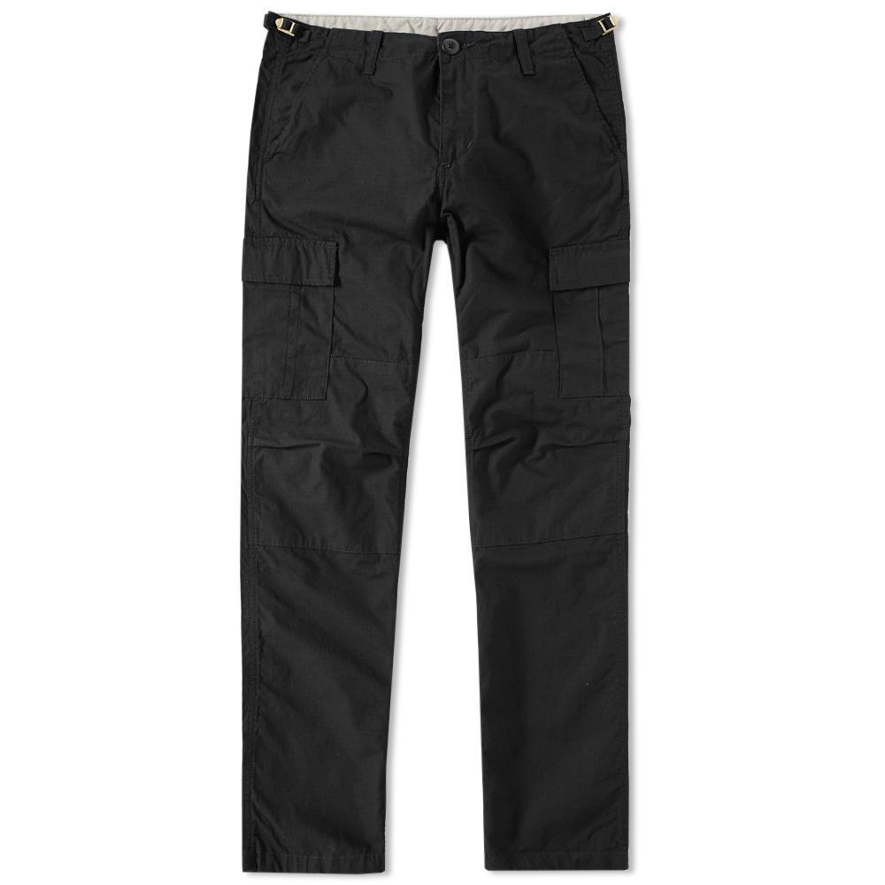 carhartt wip aviation pant in black for men lyst. Black Bedroom Furniture Sets. Home Design Ideas