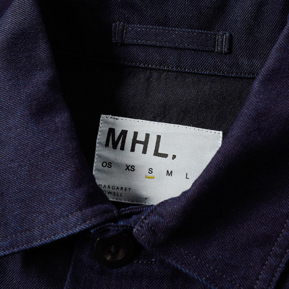 MHL by Margaret Howell Cotton Mhl. By Margaret Howell 3 Button Jacket in Blue for Men