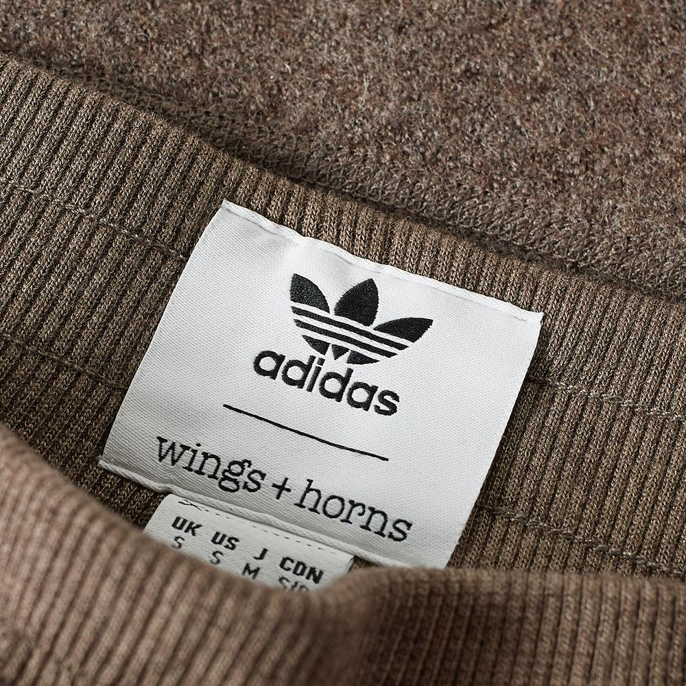 adidas Wool X Wings + Horns Mic Wh Track Pant in Brown for Men