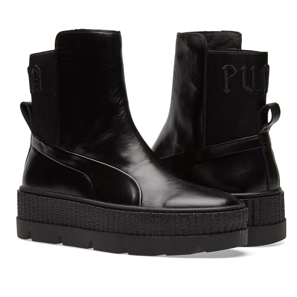 Lyst - Puma X Fenty By Rihanna Chelsea Sneaker Boot in Black for Men