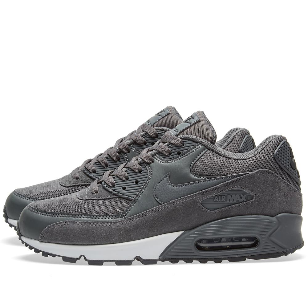 nike air max 90 essential in gray for men lyst. Black Bedroom Furniture Sets. Home Design Ideas