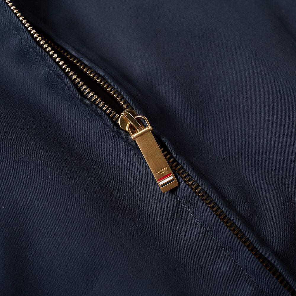Thom Browne Cotton Mackintosh Harrington Jacket in Black for Men