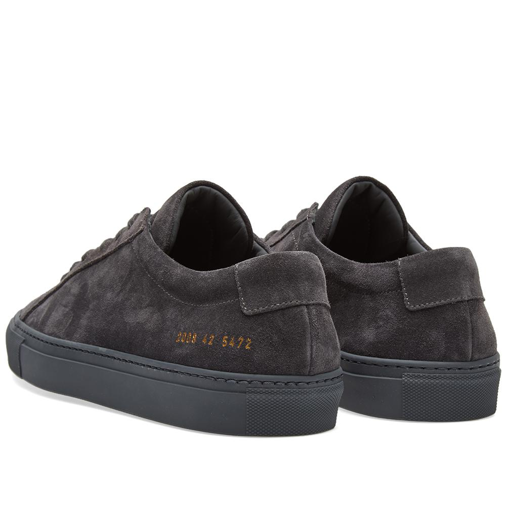 Common Projects Original Achilles Low Suede in Grey (Grey) for Men