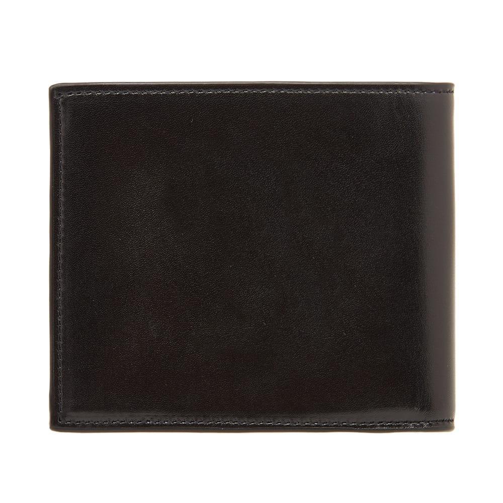 ac22b00d299 Saint Laurent - Black East West Ysl Metal Logo Billfold Wallet for Men -  Lyst. View fullscreen