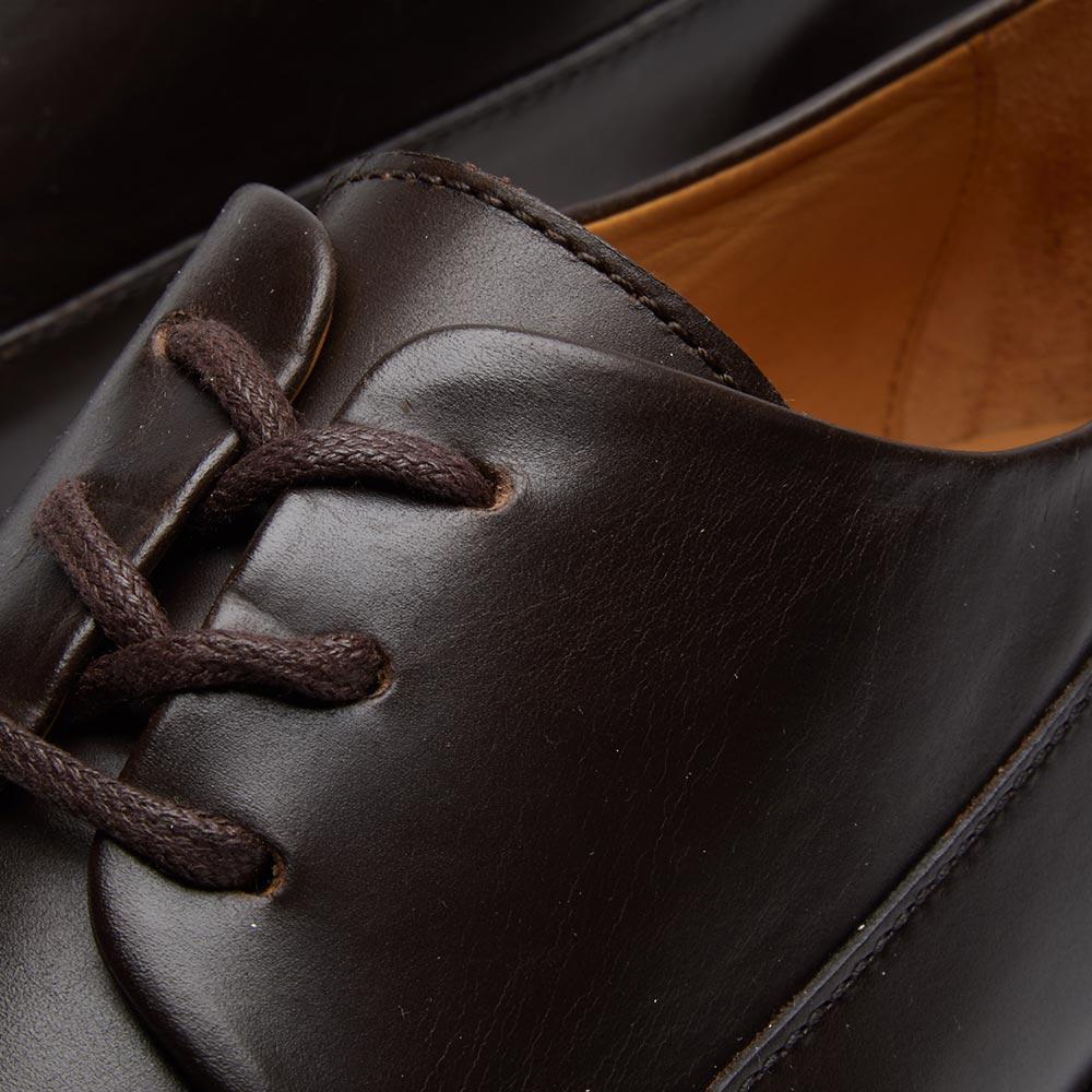 A.P.C. Leather Vivien Derby Shoe in Brown for Men