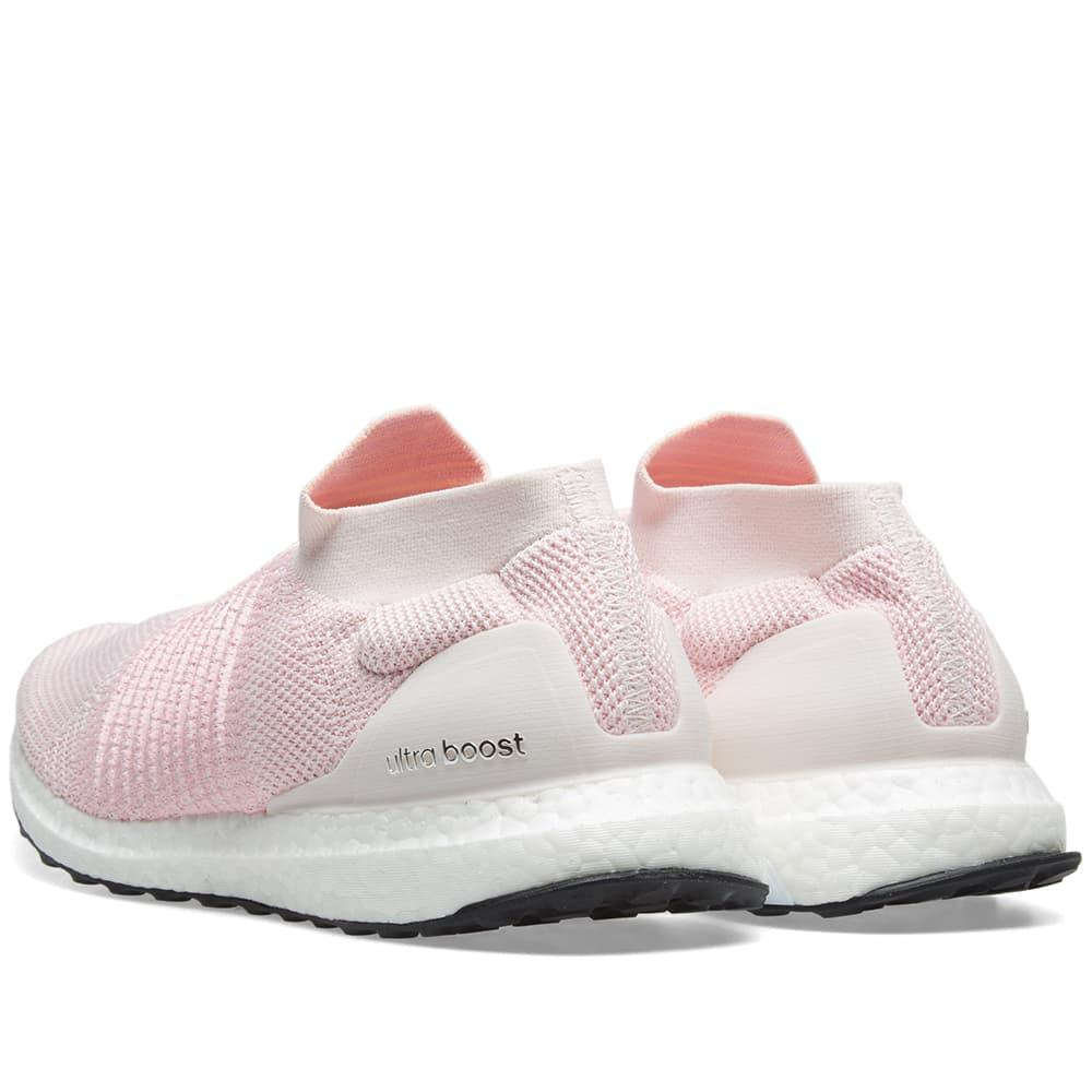 adidas ultra boost laceless pink