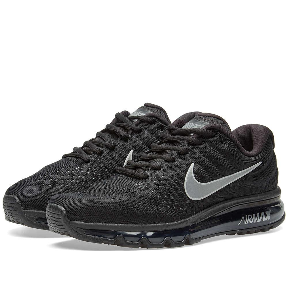 Nike Black Running Shoes With Jeans Men