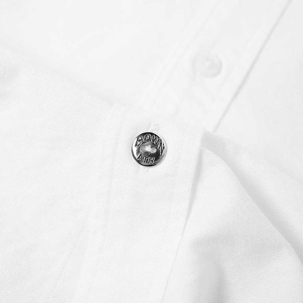Bedwin And The Heartbreakers Cotton Brian Print Bedwin Oxford Shirt in White for Men
