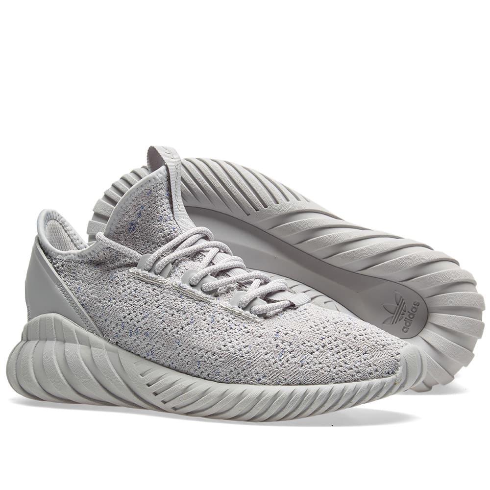 promo code c0923 cda86 Lyst - adidas Tubular Doom Sock Pk in Gray
