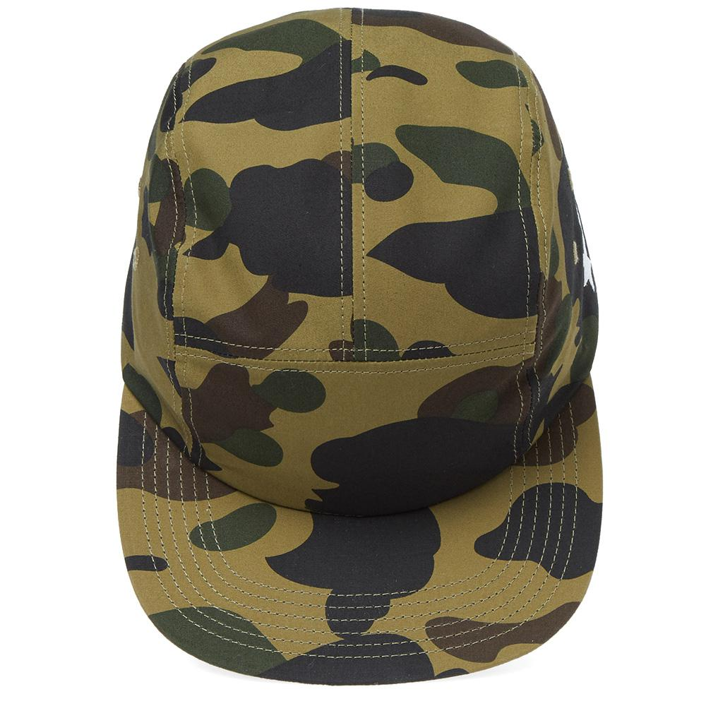 bd1aed2d7974a A Bathing Ape 1st Camo Jet Cap in Green for Men - Lyst