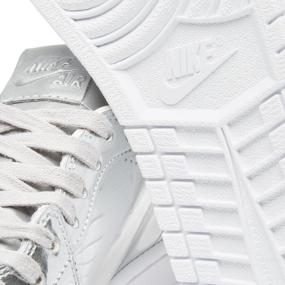 Nike Leather Nike Air Jordan 1 Re Lo Og Pinnacle in Silver (Metallic) for Men
