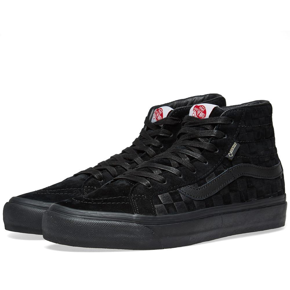 a89fbe02 Vans Black Og Sk8-hi Gtx Lx Sneaker for men