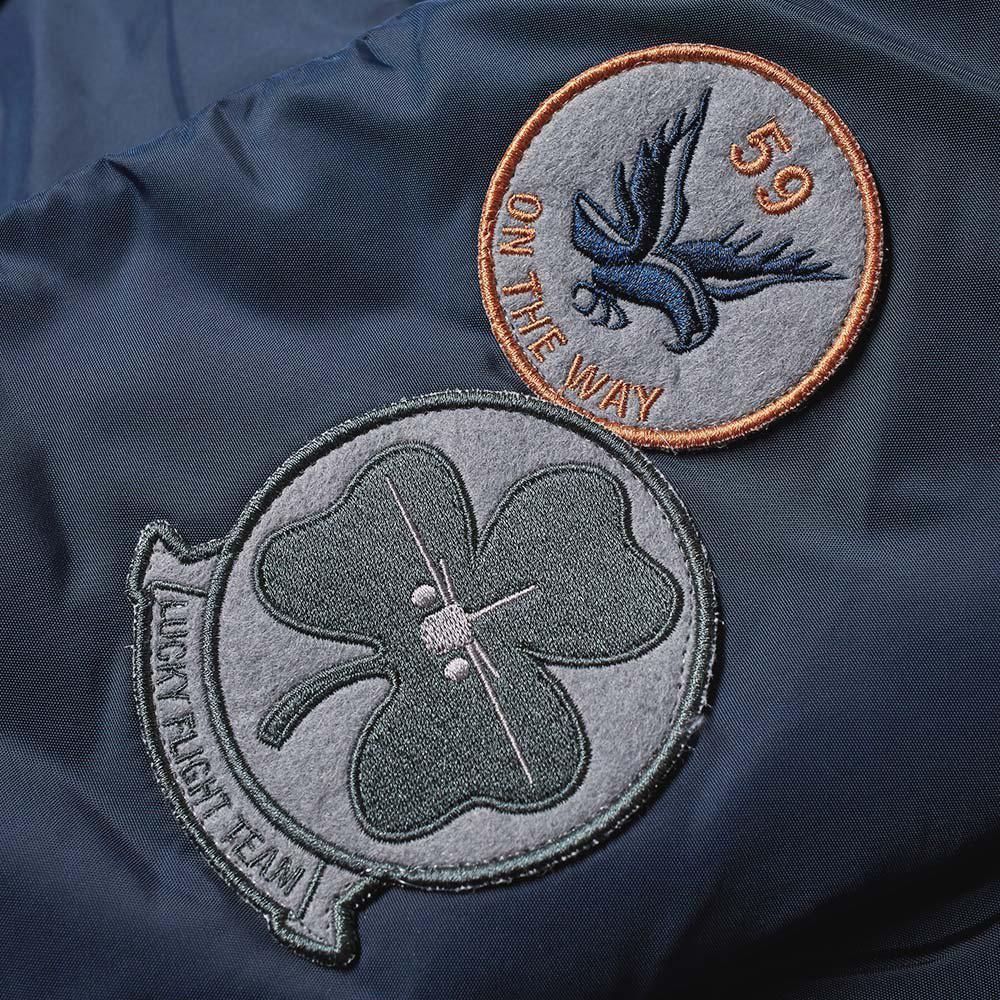 Alpha Industries Synthetic Injector Iii Patch Jacket in Blue for Men