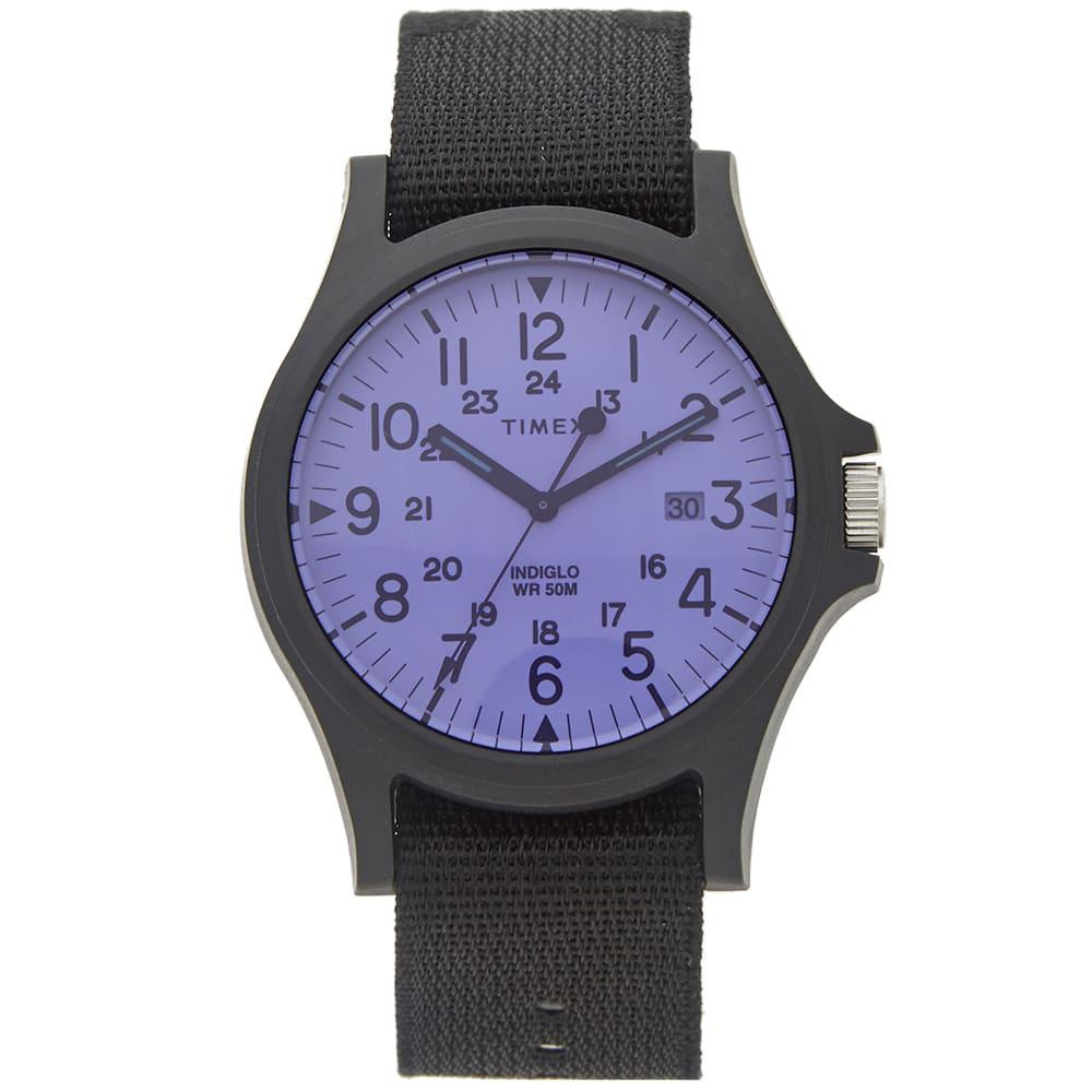 0afd7fe0536 TIMEX ARCHIVE Acadia Watch in Black for Men - Lyst