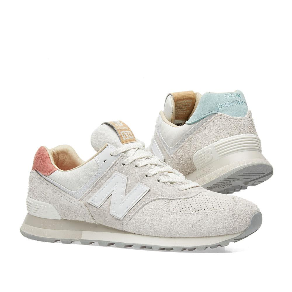 finest selection 98130 aabed New Balance White Ml574or