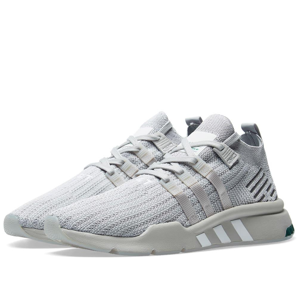 100% authentic f3eaa fe190 Adidas - Gray Eqt Support Mid Adv for Men - Lyst. View fullscreen
